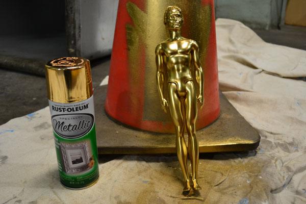 Diy Oscars Statue Ken Gets The Midas Touch Diy Boston