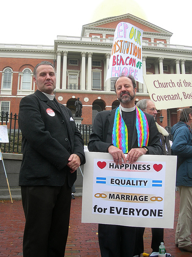 uu ministers gay marriage protest boston.jpg