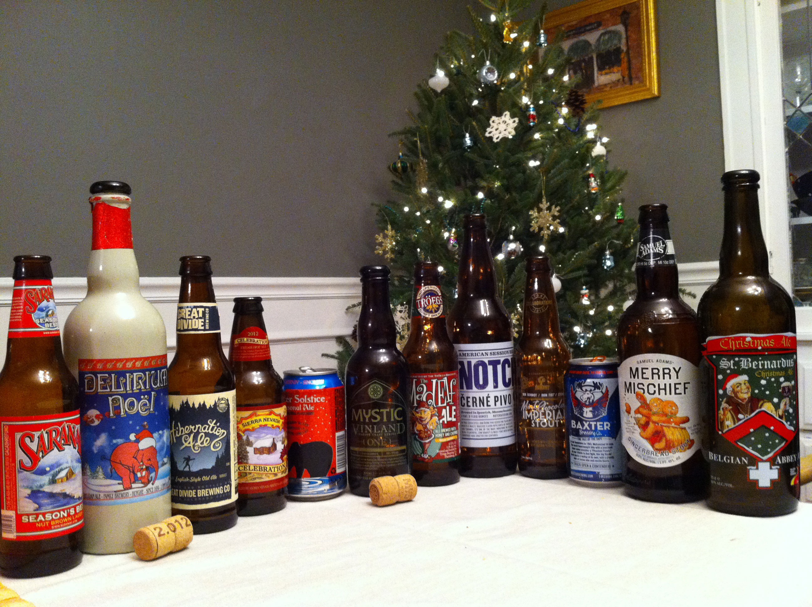 Christmas Beer.Review 12 Beers Of Christmas 99 Bottles Inside The
