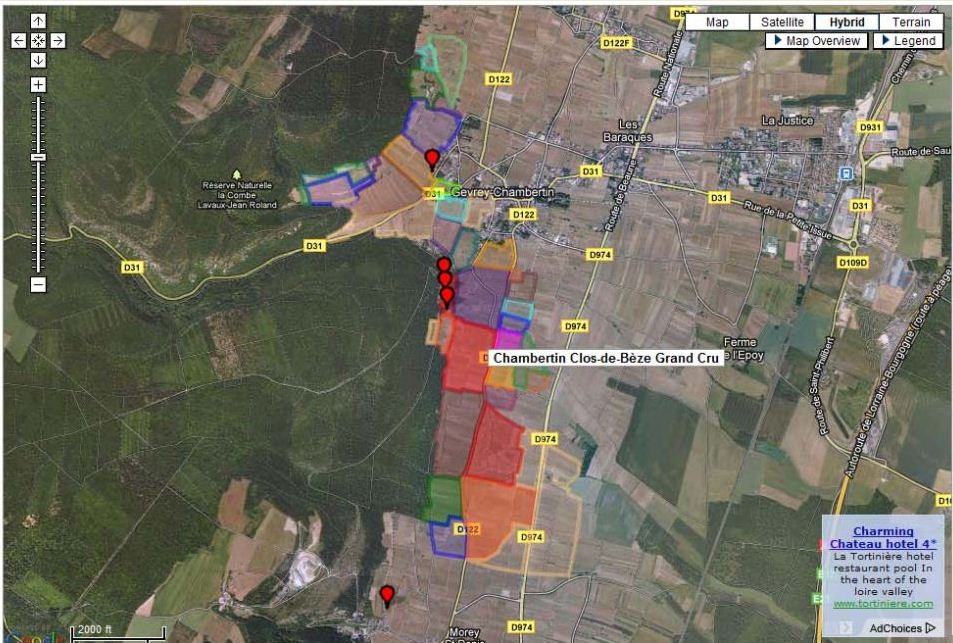 More on wine maps & Google Earth - By the glass - Wine News, Views ...