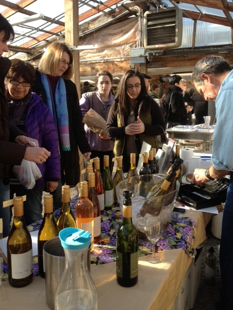 It 39 S Warm In The Greenhouse Wayland 39 S Farm Wineries Day By The Glass Wine News Views