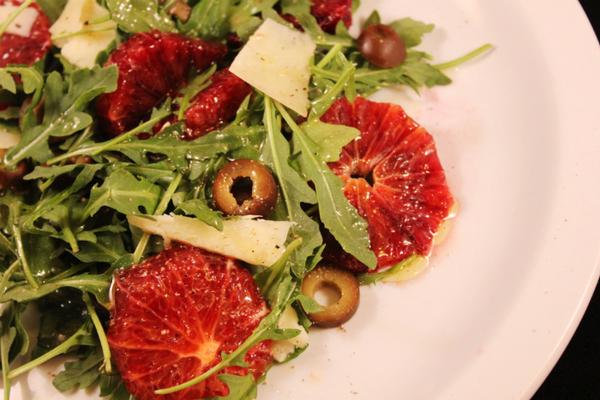 End Of Winter Salad: Blood Orange, Manchego, Olive & Arugula - Chow ...