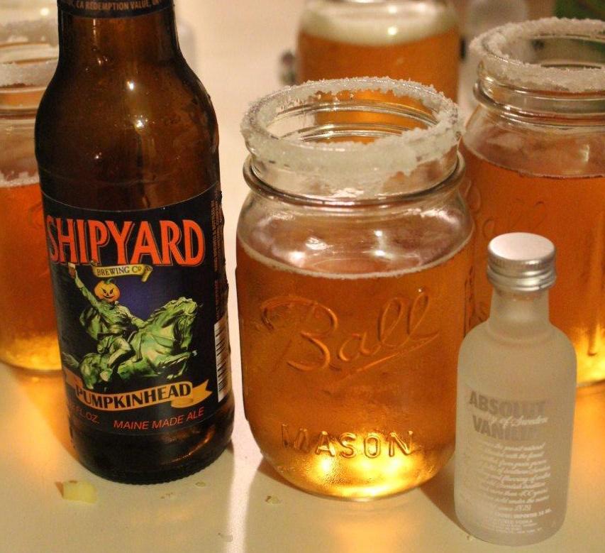 Seasonal Beer-belishment: Pumpkin Beer & Vanilla Vodka - Chow Down Beantown  - Boston.com