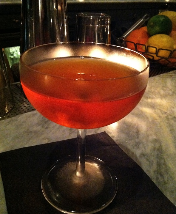 Old Pal variation : 1.5oz Rittenhouse rye, .75 Dolin dry Vermouth, .75 ...