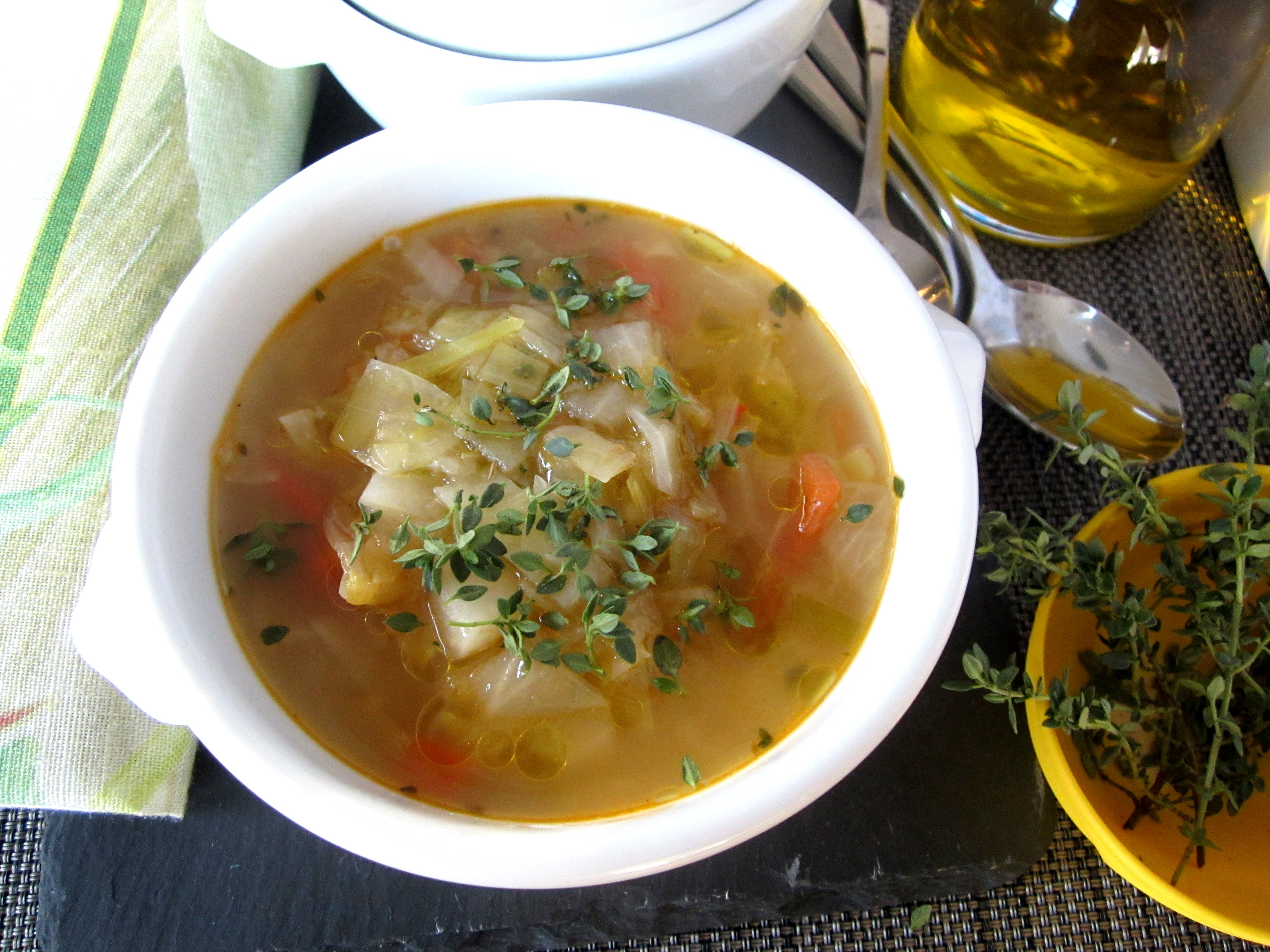 Spanish-French cabbage soup from Majorca - Dishing - Boston food blog