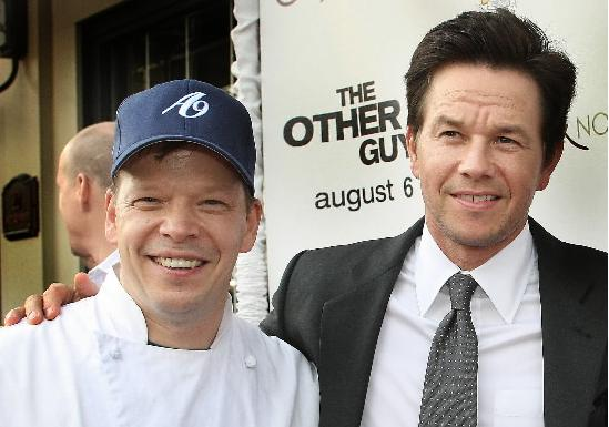 Paul Wahlberg Girlfriend Midtown high-rise blaze