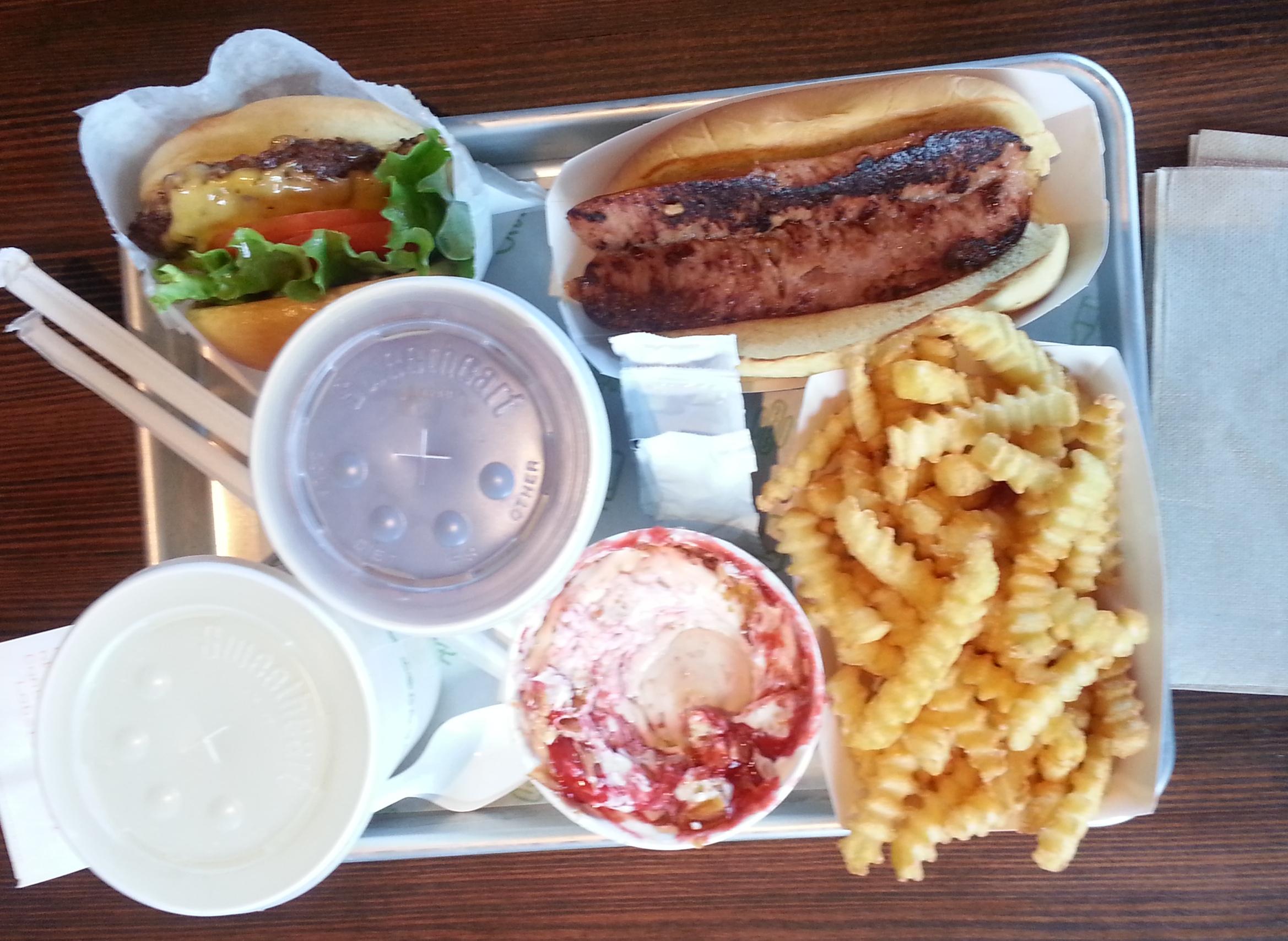 More on Shake Shack in Chestnut Hill - Dishing - Boston food