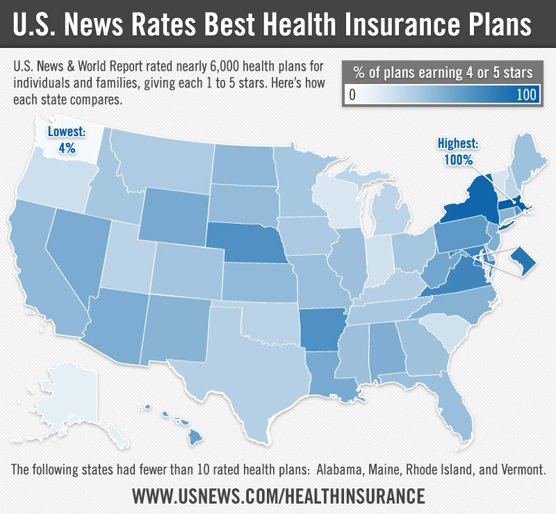 The 10 States With The Best Health Care Access: Best Value In U.S. Health Insurance Is In Massachusetts