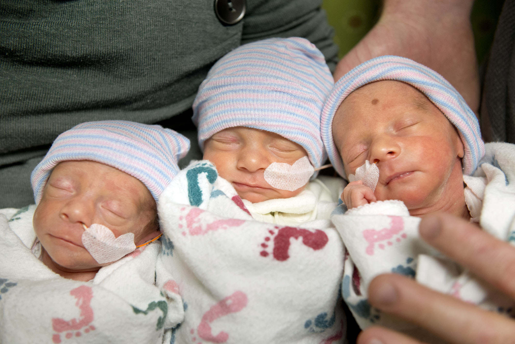 Thumbnail image for Rare identical triplets