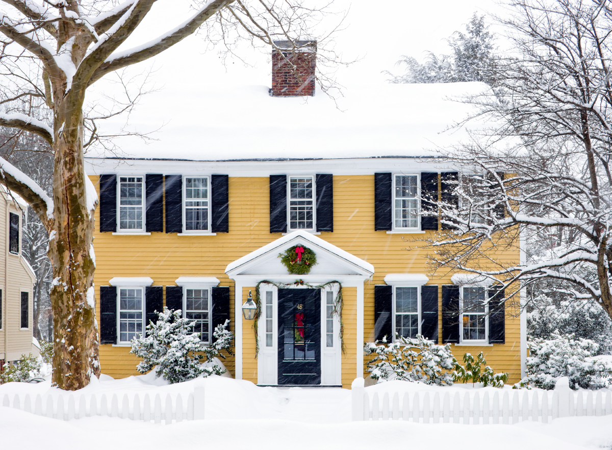 One good read new england icons for New england colonial homes