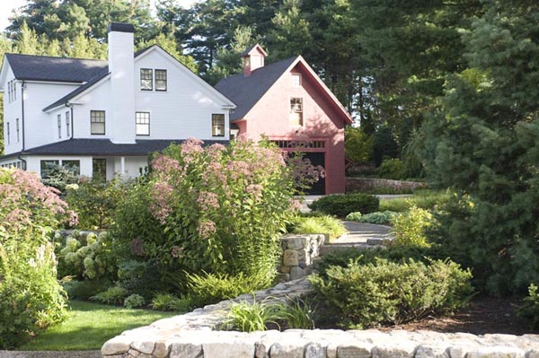 Garden Design New England first impressions at artefact home|garden