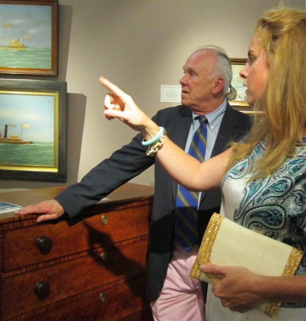 Newport Antiques Show Reflects Maritime Heritage Design