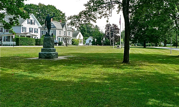 Around New England: The 'Spirit of the American Doughboy