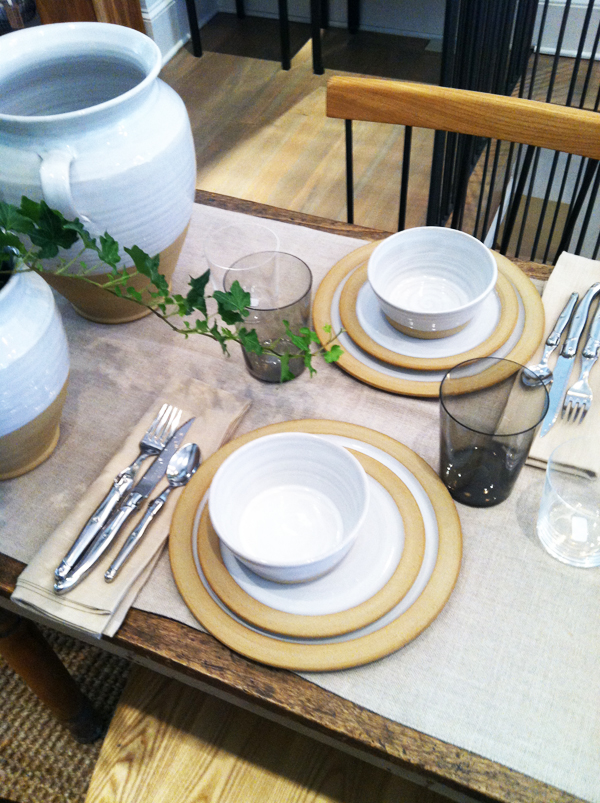 tablesetting.jpg & Pottery that brings Vermont charm to home and garden - Design New ...