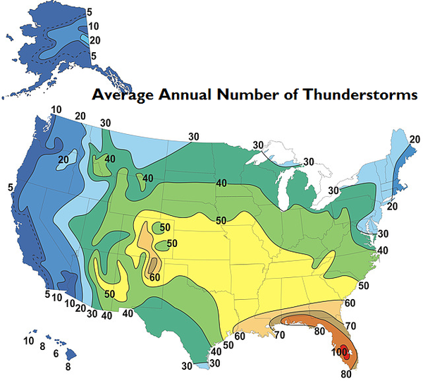 Average annual number of thunderstorms.png