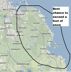 heaviest%20totals2-thumb-300x305-122327 Boston, NorthEast: Winter storm warning, blizzard warning south coast
