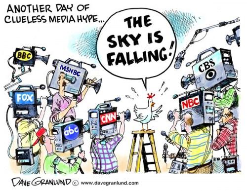 Negativity of media hype