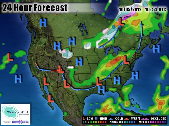 Weather Map East Coast Sunny and warm today with some rain this weekend.   Weather Wisdom