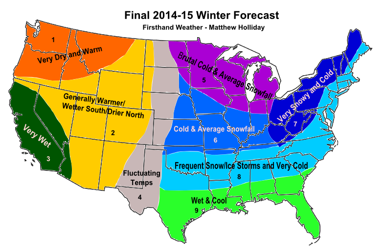 Winter 2014-2015 Outlook: What Can We Expect - Weather Wisdom - Boston.com