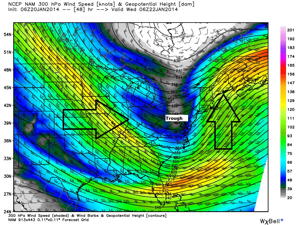 Some Accumulating Snow Likely This Weekend Weather Wisdom - Us jet stream forecast map