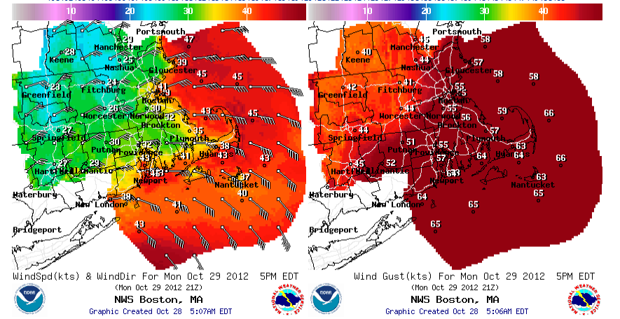 Wind and water will increase through tomorrow evening   Boston.com