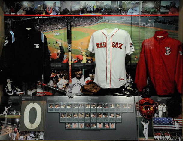Red Sox Hall of Fame exhibit