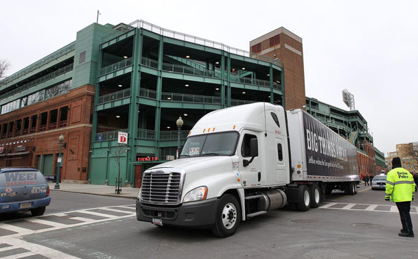 Red Sox truck day