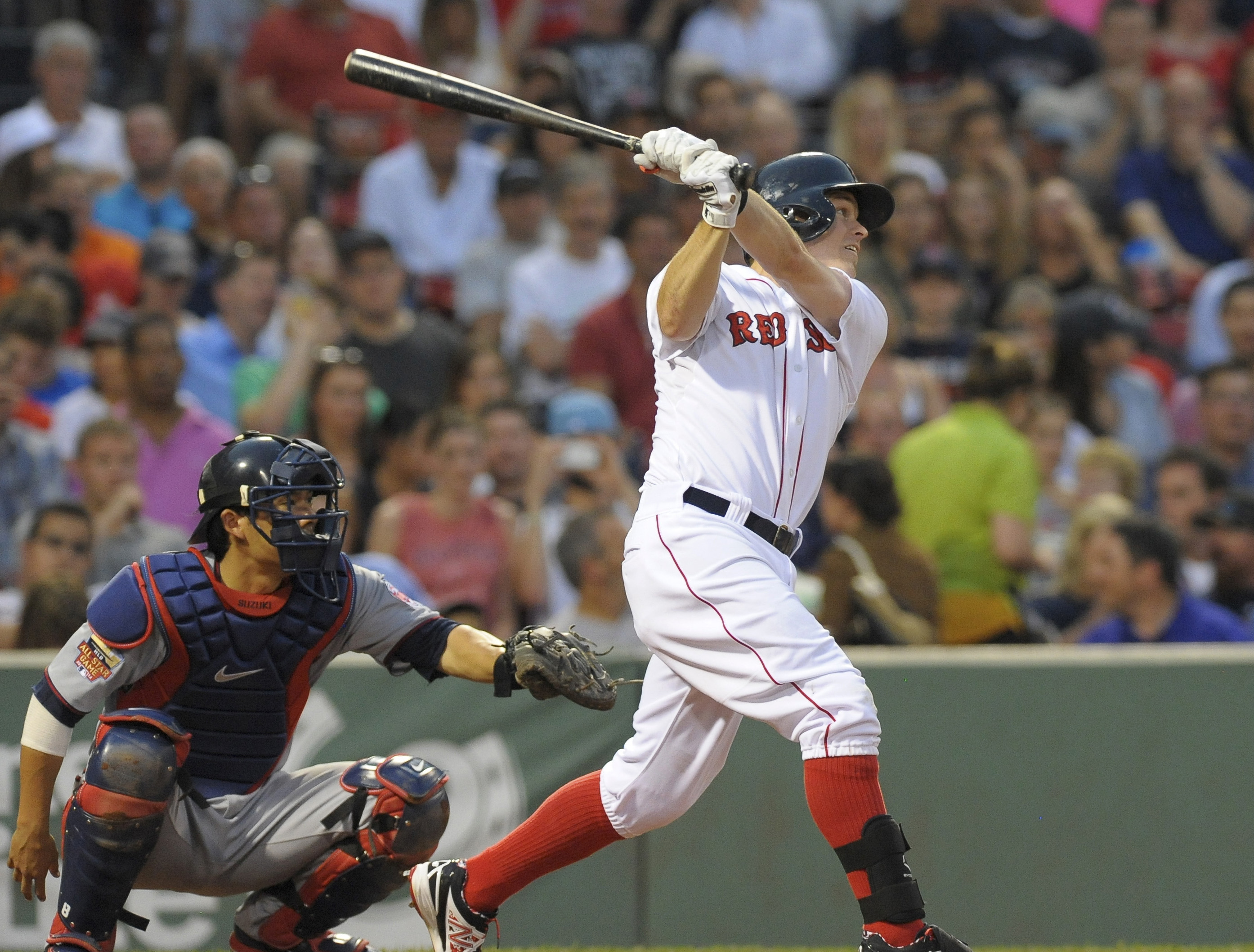online store 18df1 402d3 Brock Holt Leads Red Sox over Twins 2-1 - Extra Bases ...