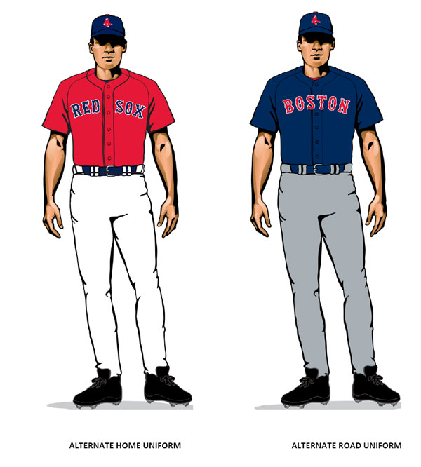 07b905a05 Boston Red Sox Get New Uniforms for '09