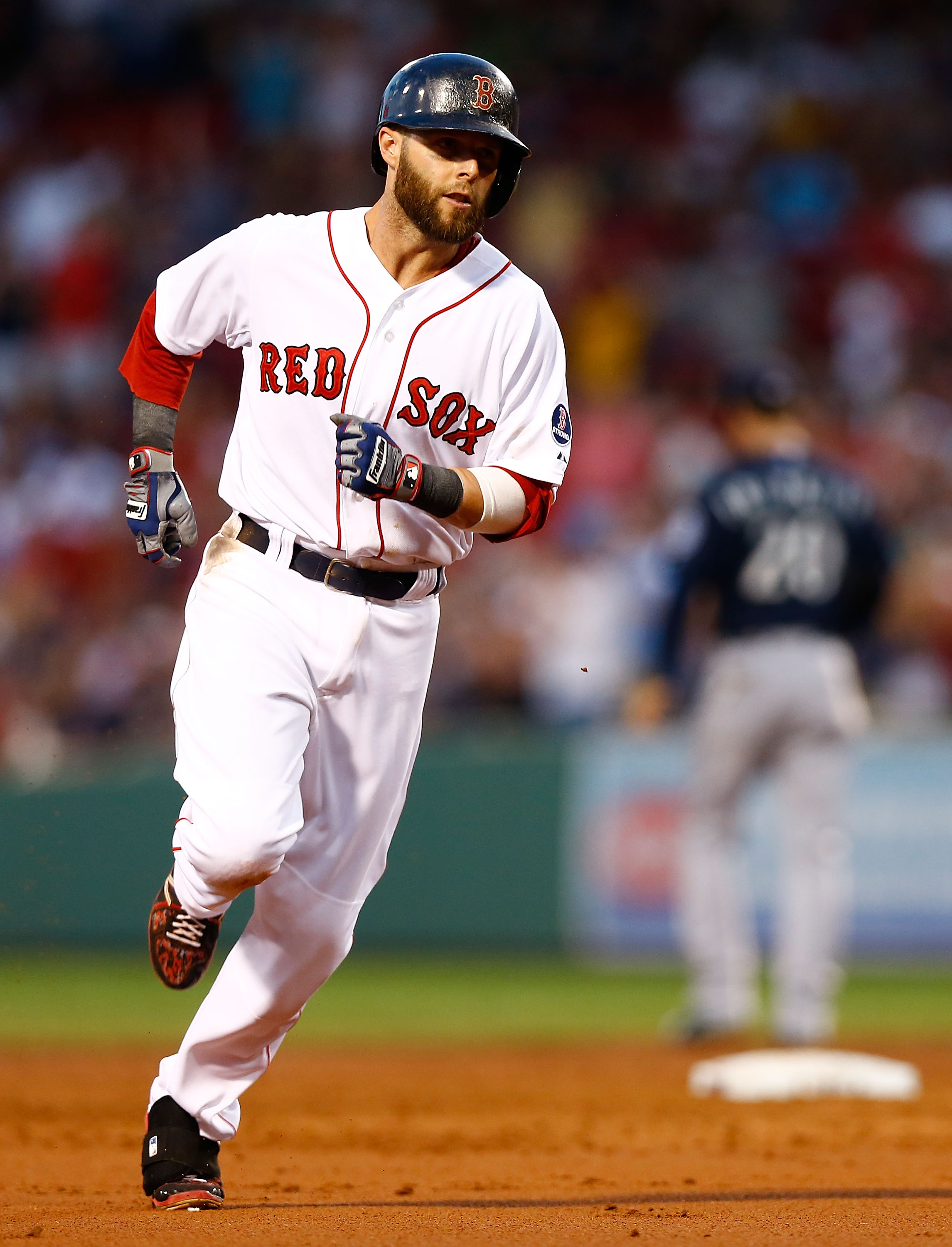 Pedroia even keeled after 2-for-4 night