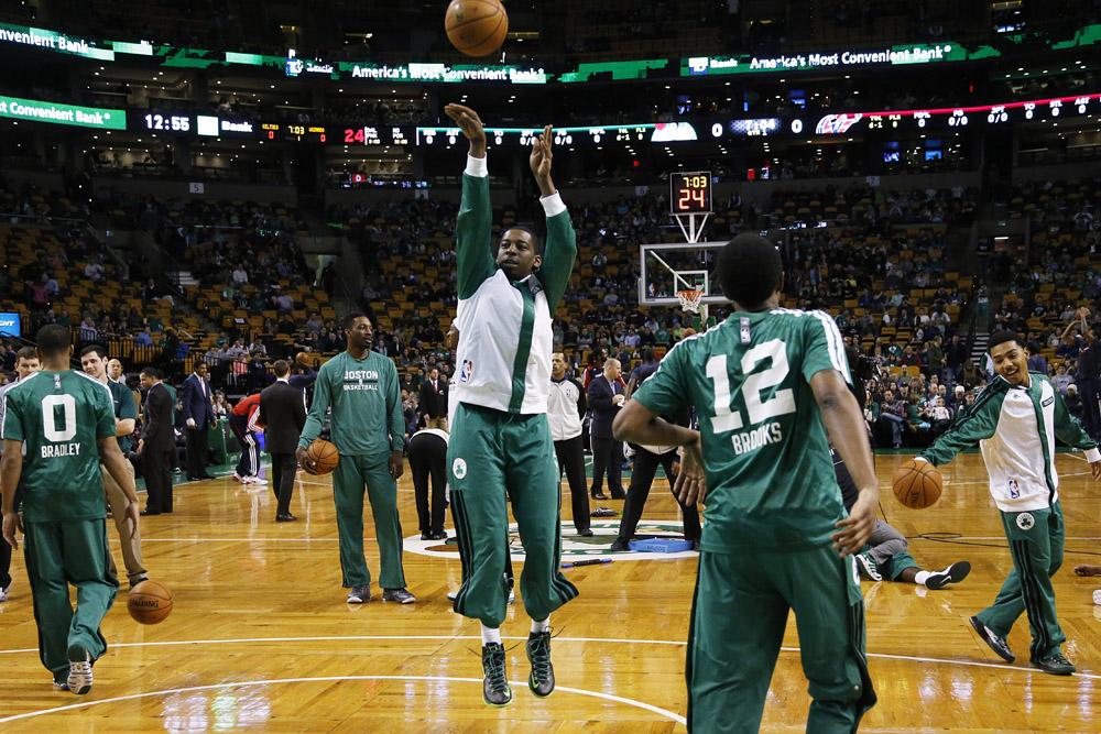Baseline Perspective: pre-game rituals -Celtics blog ...