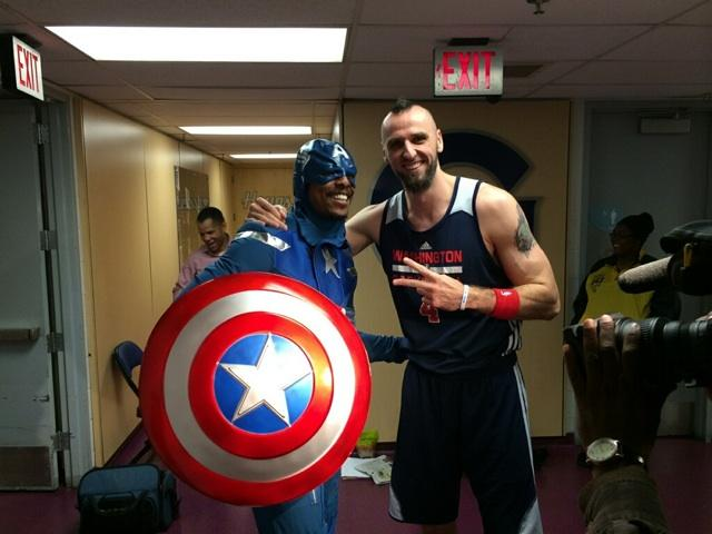 Paul Pierce Dressed as Captain America For Halloween, Continuing ...