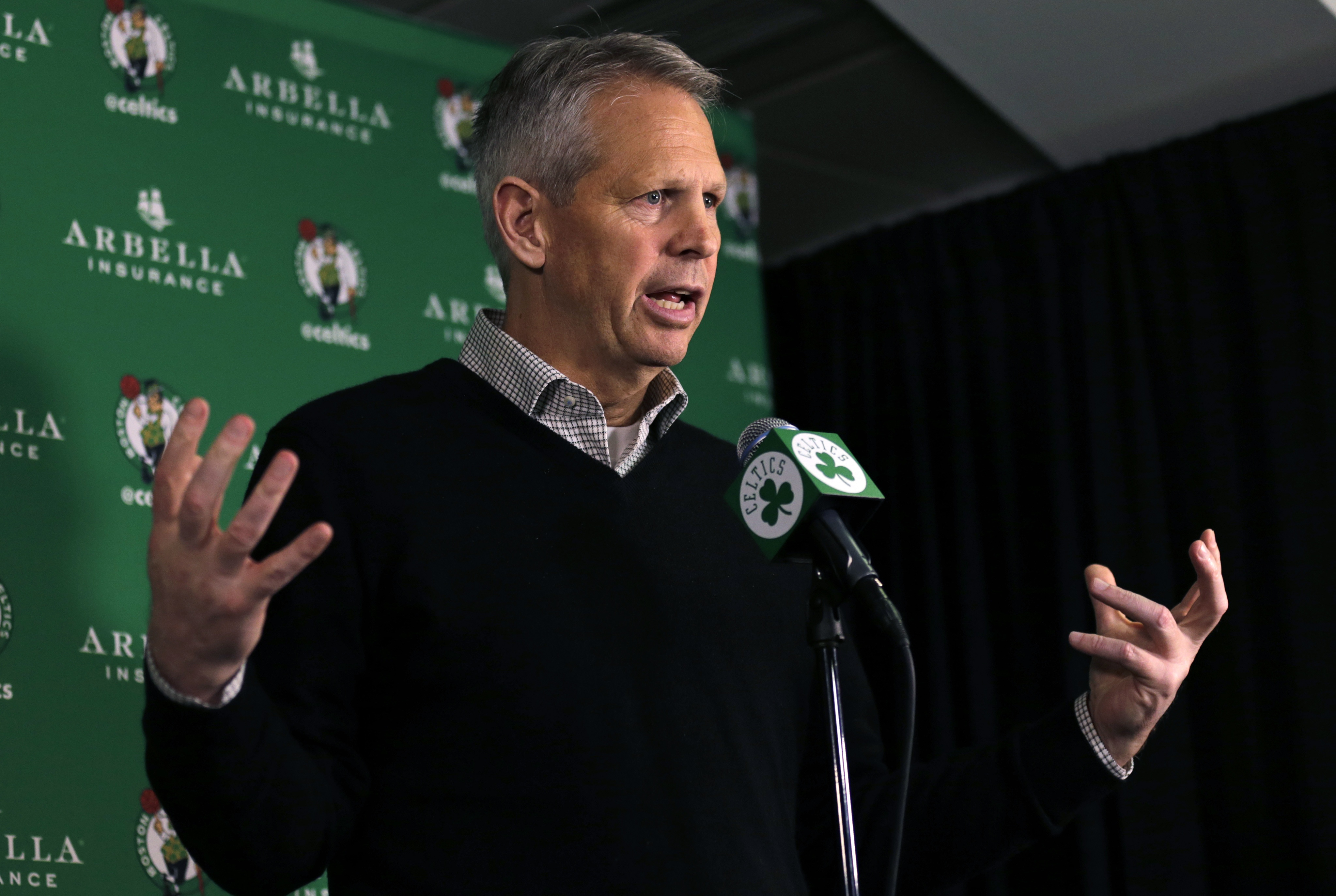 Danny Ainge on Trade Deadline Possibilities We re All Over The