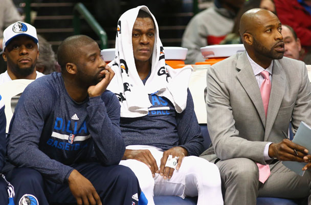 Rajon Rondo Gets Benched Following Shouting Match with Rick Carlisle