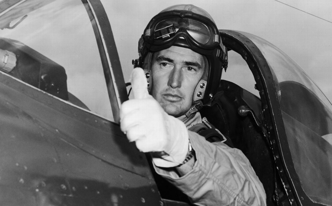 Image result for ted williams marine pilot images