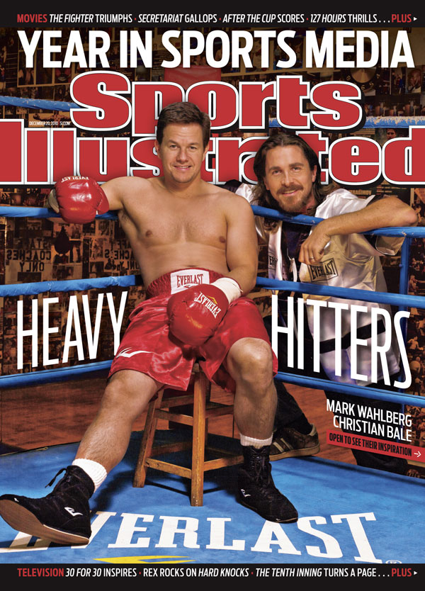 Mark Wahlberg makes cover of Sports Illustrated