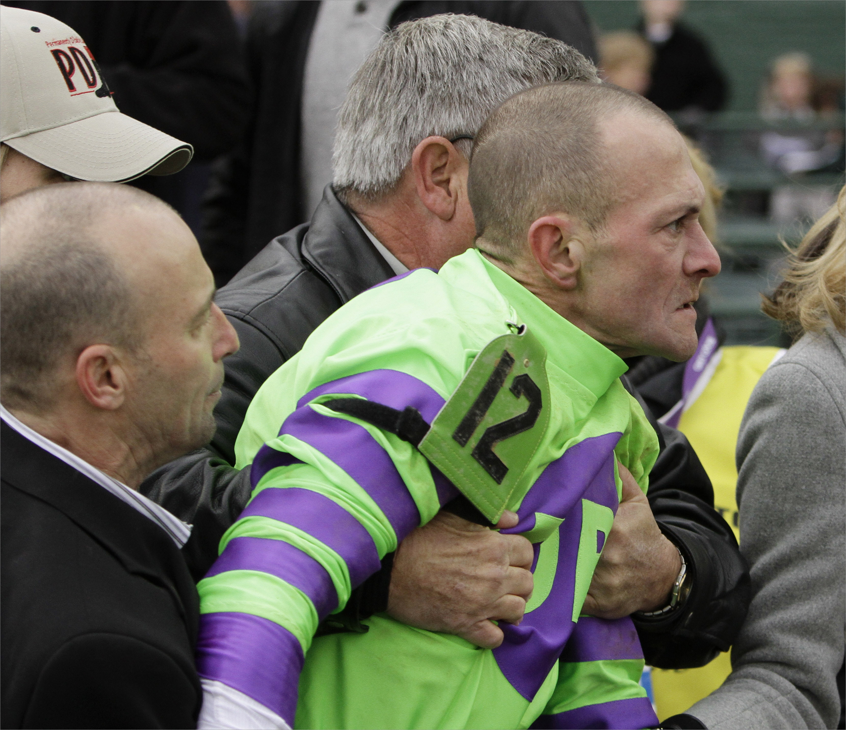 Jockeys Trade Punches At Breeders Cup The Buzz Boston