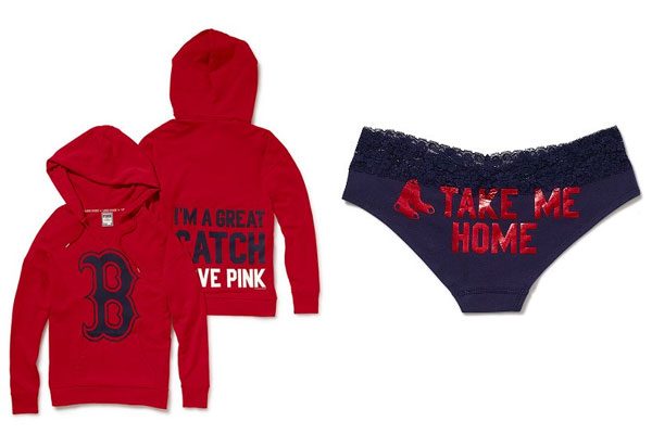 separation shoes a13e4 b95ed Victoria's Secret updates Pink Red Sox gear - The Buzz ...