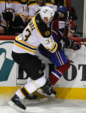 Zdeno Chara hit on Max Pacioretty