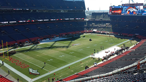 Welcome to Sports Authority Field at Mile High Stadium