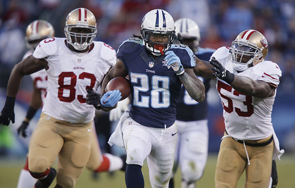 Report: Jets Sign Former Titans Running Back Chris Johnson