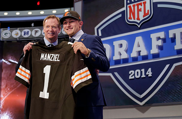 After Huge Drop, Johnny Manziel Drafted by Cleveland Browns
