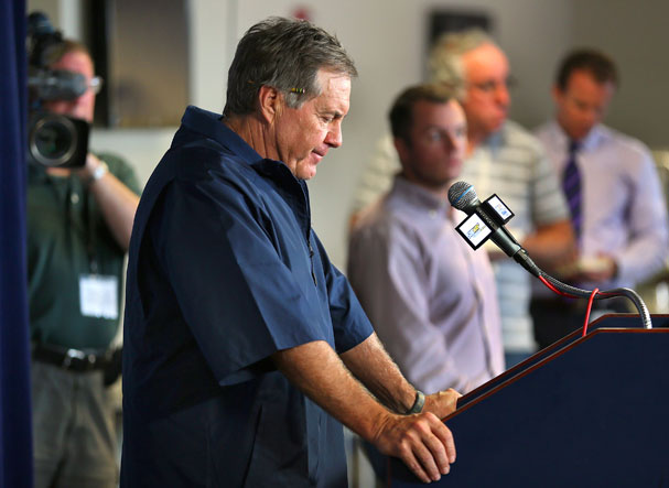 For Belichick, openness and thoughtfulness rule the day
