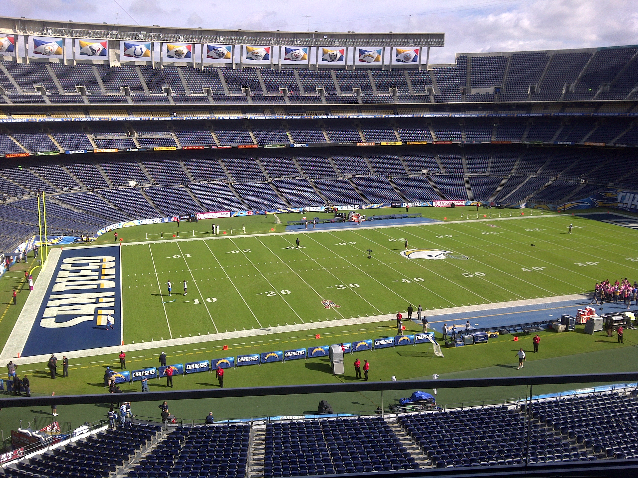 Welcome To Qualcomm Stadium