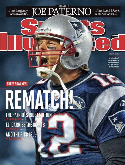Tom Brady on SI cover