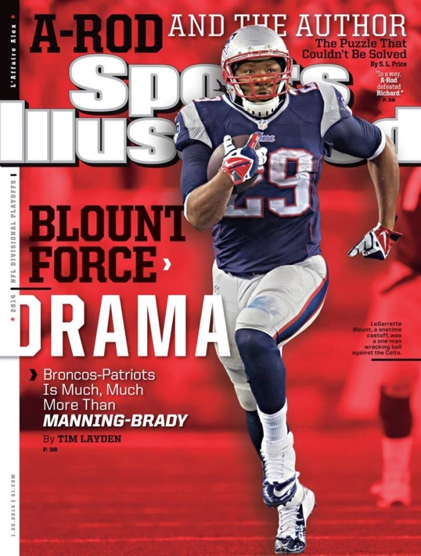 LeGarrette Blount makes cover of Sports Illustrated