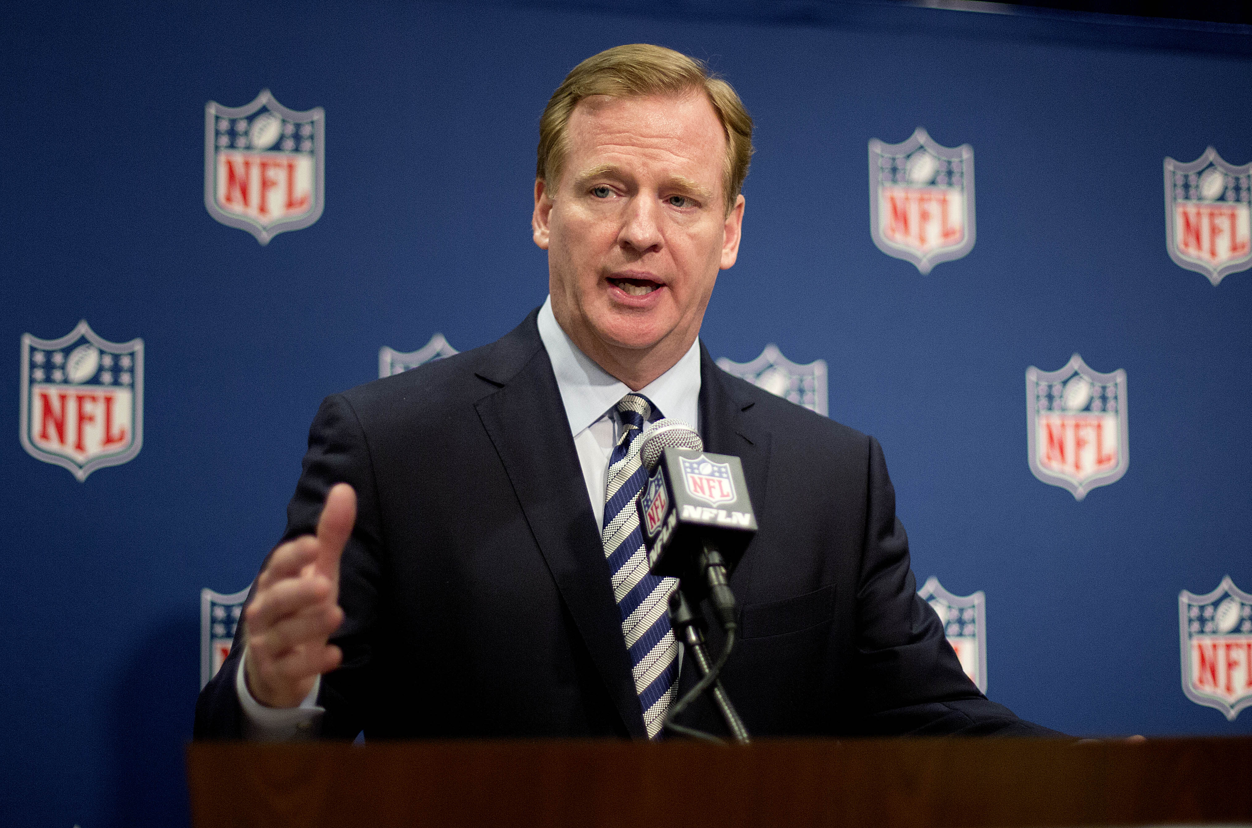 NFL's Roger Goodell: 'We Will Get Our House In Order' In Handli…