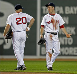 Kevin Youkilis and Jason Bay