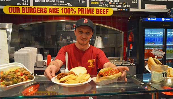 Aris Bbq Is One Of The Venues Offering Half Priced Items At Faneuil Hall Marketplace