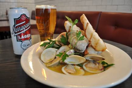 ... beer and its clams, but arguing the point wouldn't be very neighborly